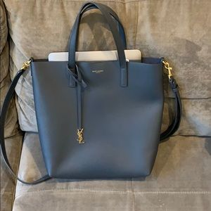 Saint Laurent Bags - YSL Saint Laurent Bold Shopping Bag Soft Leather